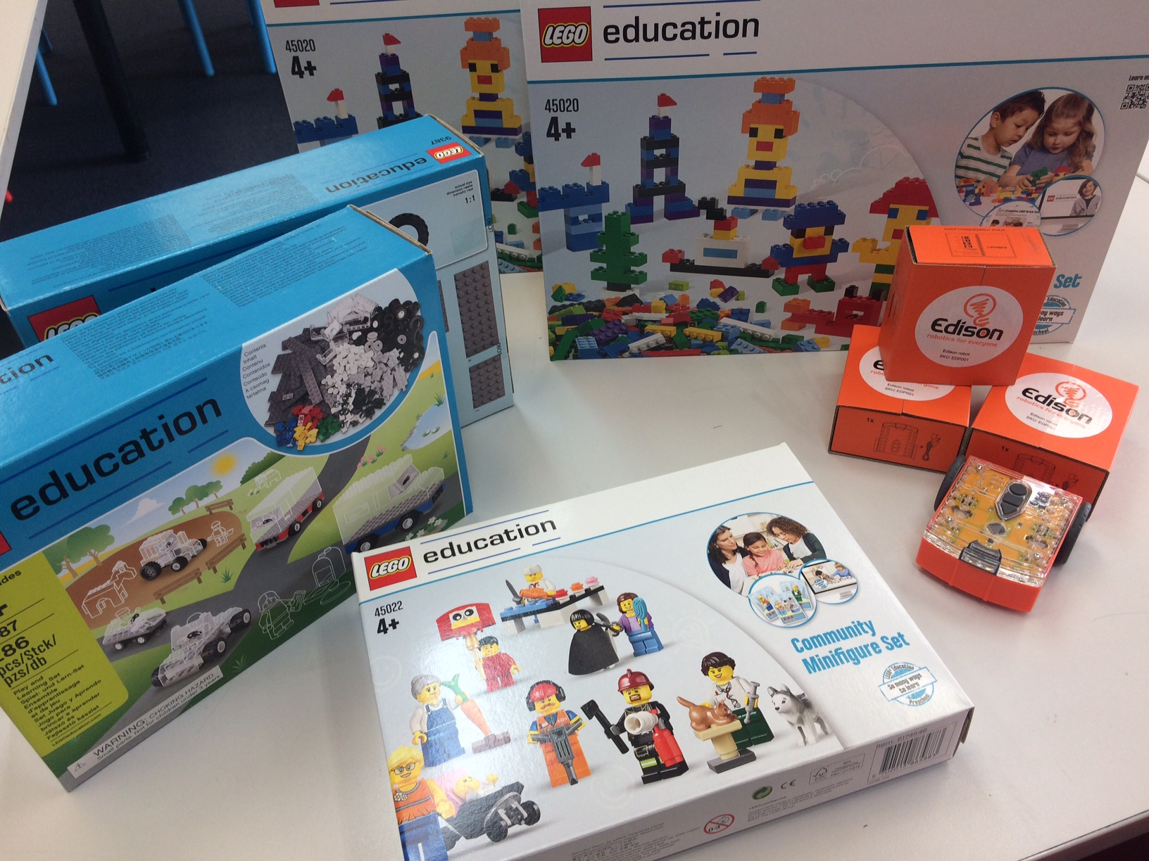 Some of the great new STEM resources we have at school.