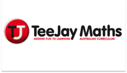 Teejay Maths logo